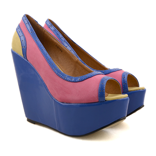Loly fuchsia - bleu - ocru (1)