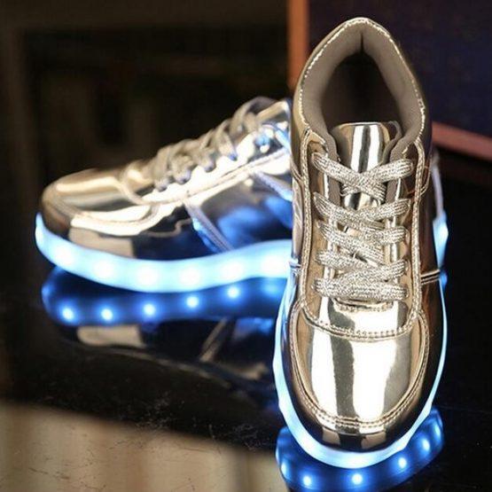 adidasi led silver (13)